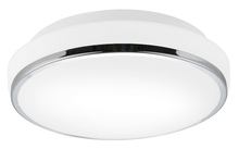 Stone Lighting CL530FRPCDOB24 - Ceiling Mount Alta Opal Frosted Glass Polished Chrome LED DOB 24W 90CRI 3000K 1600 Lumens Dimmable