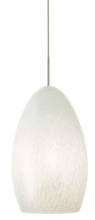 Stone Lighting PD191OPBZCF13M - Pendant Muna Opal Bronze Compact Fluorescent 13W Monopoint Canopy