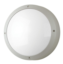 Stone Lighting WO818WHMB6 - Outdoor Wall Lux Round Open White Medium Base Incandescent 60W A19