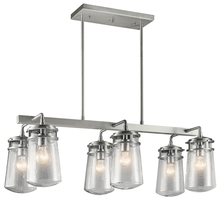Kichler 49835BA - Outdoor Linear Chandelier 6Lt