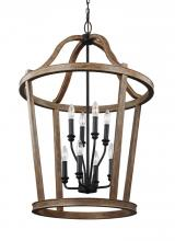 Feiss F3040/8WOW - 8 - Light Two Tier Chandelier