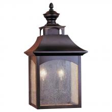 Generation Lighting - Feiss OL1003ORB - 2 - Light Wall Lantern