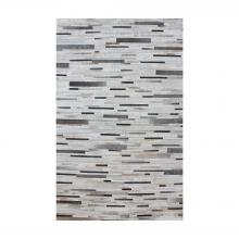 Dimond 8905-375 - Joico Hand Stitched Leather Patchwork Rug 6x6