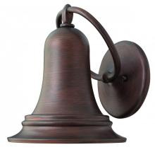 Hinkley 2174VZ - One Light Victorian Bronze Outdoor Wall Light