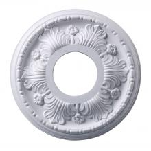 ELK Lighting M1000WH - Acanthus Medallion 11 Inch in White Finish